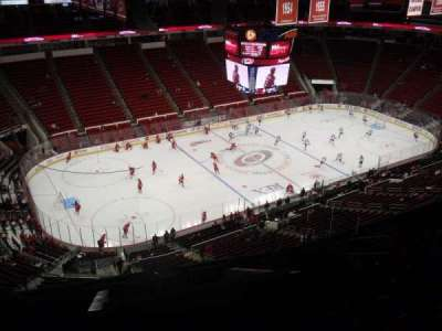PNC Arena, section: 307, row: L, seat: 9