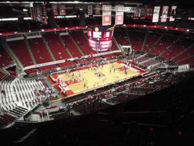 PNC Arena, section: 307, row: K, seat: 4