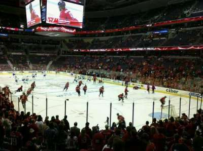 Verizon Center, section: 118, row: V, seat: 1