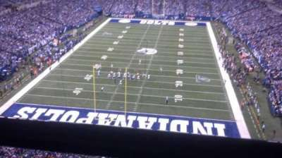 Lucas Oil Stadium, section: 526, row: 1, seat: 6