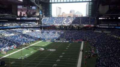 Lucas Oil Stadium section 424