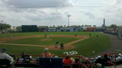 Space Coast Stadium, section: 209, row: 10, seat: 1