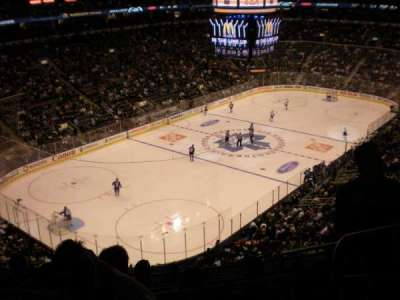 Air Canada Centre, section: 301, row: 5, seat: 7
