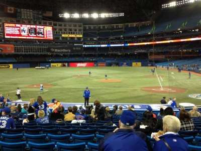 Rogers Centre, section: 124R, row: 24, seat: 8