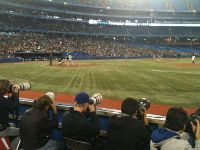Rogers Centre, section: 117, row: 4, seat: 7