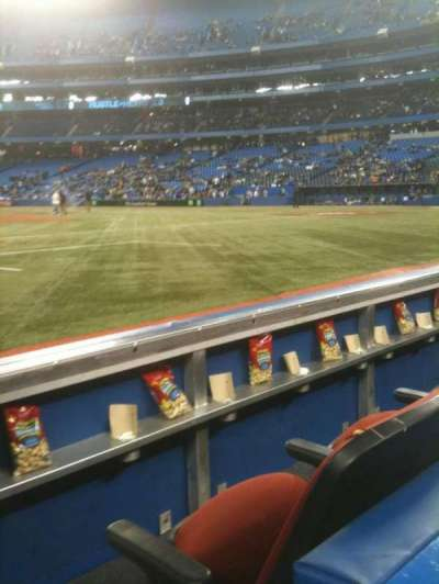Rogers Centre, section: 127R, row: 1, seat: 8