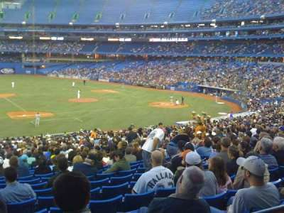 Rogers Centre, section: 128R, row: 32, seat: 10