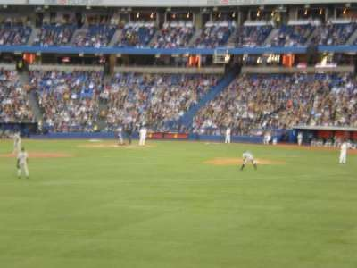 Rogers Centre, section: 138R, row: 1, seat: 4