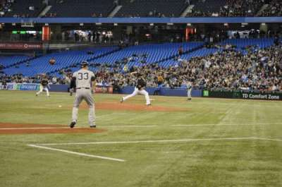Rogers Centre, section: 127R, row: 1, seat: 5