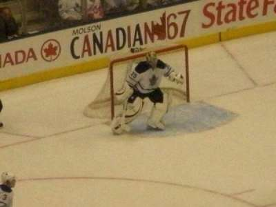 Air Canada Centre, section: 307, row: 10, seat: 4