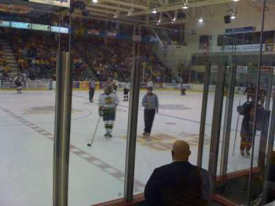 Yardmen Arena, section: 6, row: 3, seat: 4