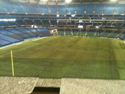 Rogers Centre, section: Sightlines Restaurant, row: 1