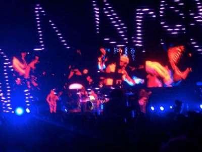 Northlands Coliseum, section: Floor, row: 17, seat: 1