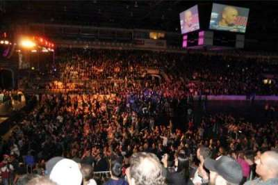 Ricoh Coliseum section 101