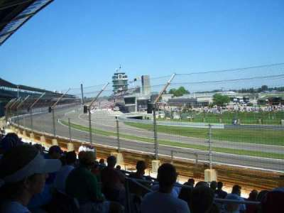 Indianapolis Motor Speedway, section: E Box 12, row: H, seat: 12