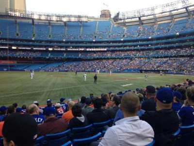 Rogers Centre, section: 130BR, row: 12, seat: 8