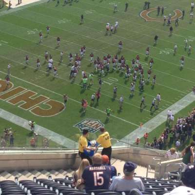 Soldier Field, section: 446, row: 25, seat: 7