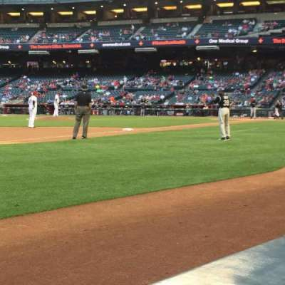 Chase Field, section: S, row: AA, seat: 10