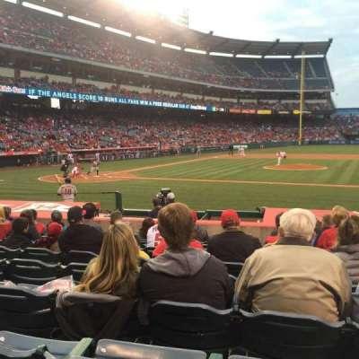 Angel Stadium, section: F124, row: L, seat: 11