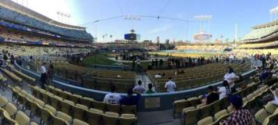 Dodger Stadium, section: 4FD, row: D, seat: 9