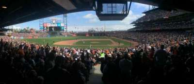 AT&T Park, section: 121, row: 35, seat: 1