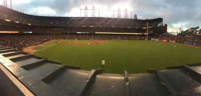 AT&T Park, section: 148, row: 1, seat: 21