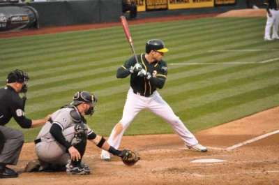 Oakland Alameda Coliseum, section: 114, row: 7, seat: 14