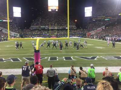 CenturyLink Field, section: 122, row: E, seat: 8