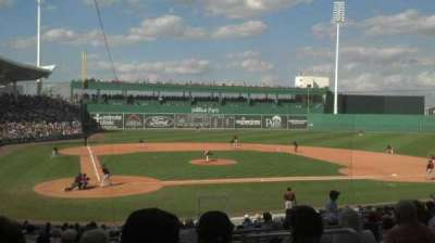 JetBlue Park, section: 203, row: 9, seat: 4