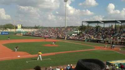 McKechnie Field, section: RES 11, row: 12, seat: 17