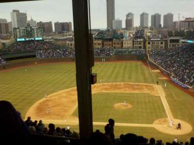 Wrigley Field section 413L