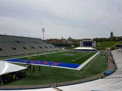 University of Kansas Memorial Stadium, section: 12, row: 30, seat: 8