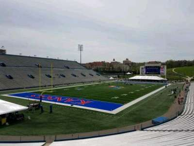 University of Kansas Memorial Stadium, section: 11, row: 30, seat: 40