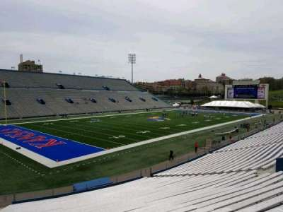 University of Kansas Memorial Stadium, section: 10, row: 30, seat: 35