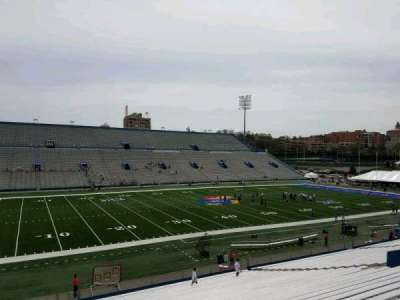 University of Kansas Memorial Stadium, section: 9, row: 33, seat: 10