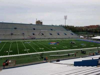 University of Kansas Memorial Stadium, section: 8, row: 35, seat: 25