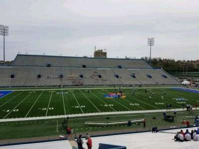 University of Kansas Memorial Stadium, section: 8, row: 35, seat: 4