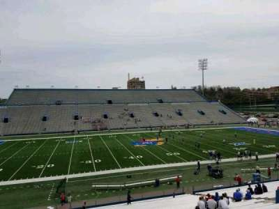 University of Kansas Memorial Stadium, section: 7, row: 35, seat: 30