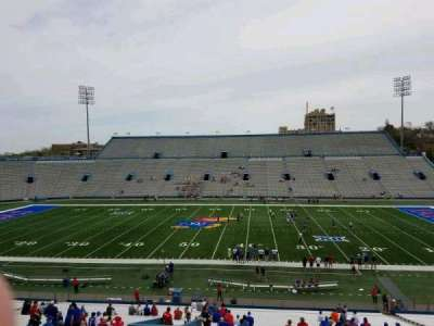 University of Kansas Memorial Stadium, section: 5, row: 42, seat: 25