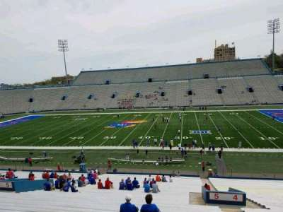 University of Kansas Memorial Stadium, section: 5, row: 42, seat: 4