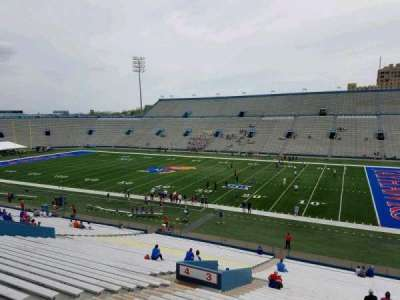 University of Kansas Memorial Stadium, section: 3, row: 40, seat: 11