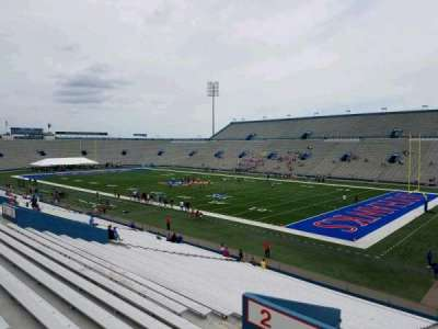 University of Kansas Memorial Stadium, section: 1, row: 33, seat: 10