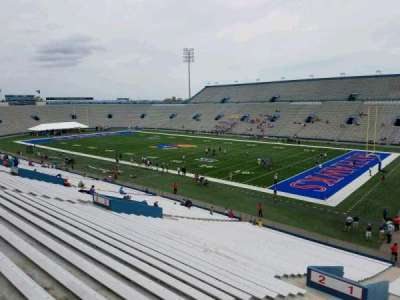 University of Kansas Memorial Stadium, section: 1, row: 40, seat: 5
