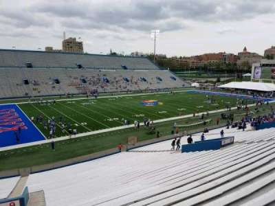 University of Kansas Memorial Stadium, section: 9, row: 40, seat: 5