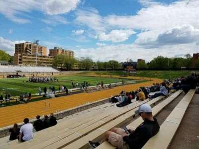 Welch Stadium, section: K, row: 20, seat: 2