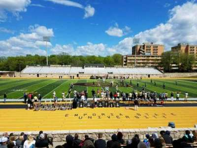Welch Stadium, section: N, row: 16, seat: 23
