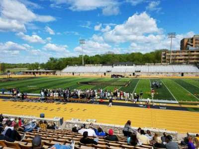 Welch Stadium, section: O, row: 20, seat: 6