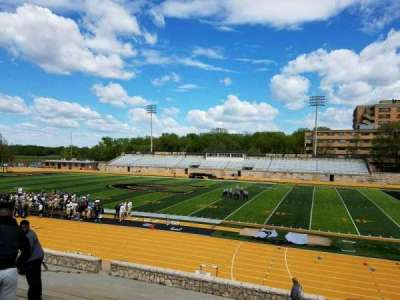 Welch Stadium, section: O, row: 20, seat: 2