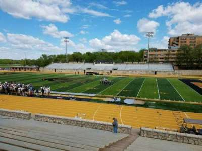 Welch Stadium, section: R, row: 20, seat: 20