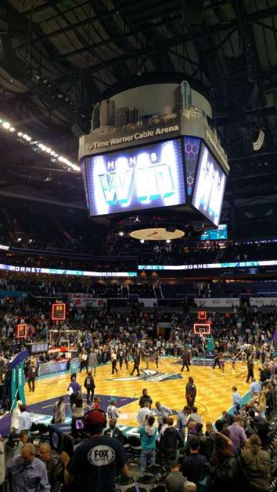 Spectrum Center, section: 116, row: L, seat: 35